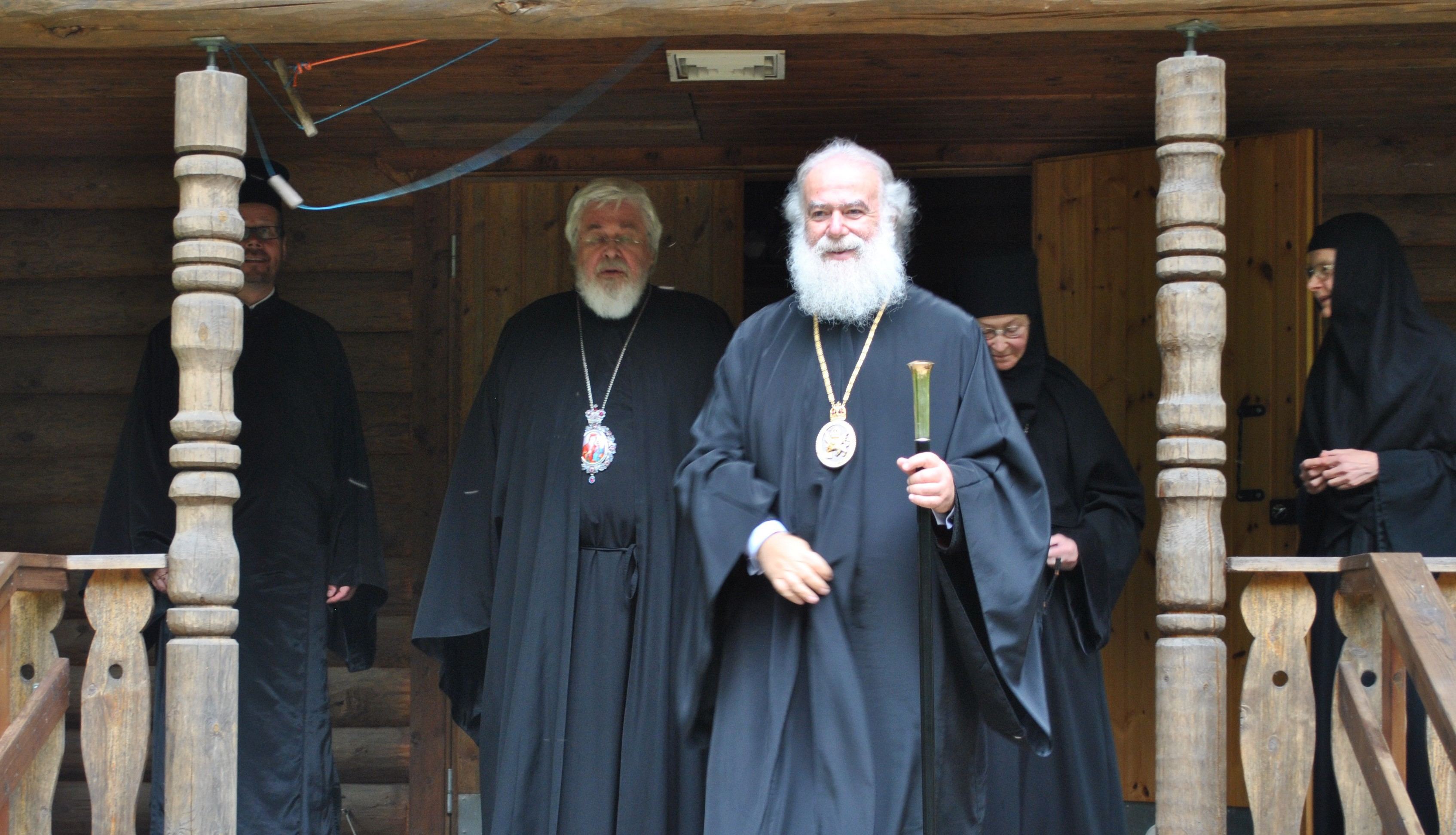 Aleksandrian patriarkka Teodoros Lintulan luostarin hautausmaalla