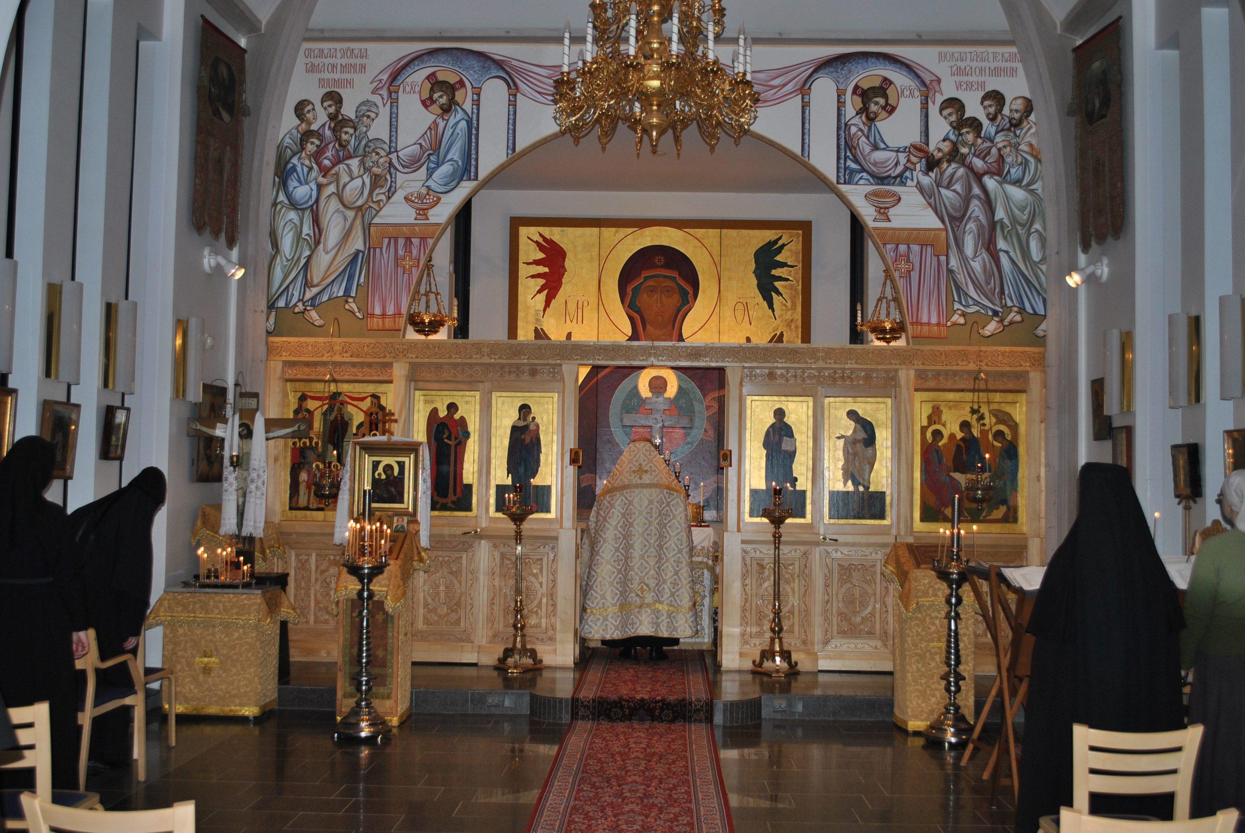 Lintulan luostarin Pyhän Kolminaisuuden kirkko