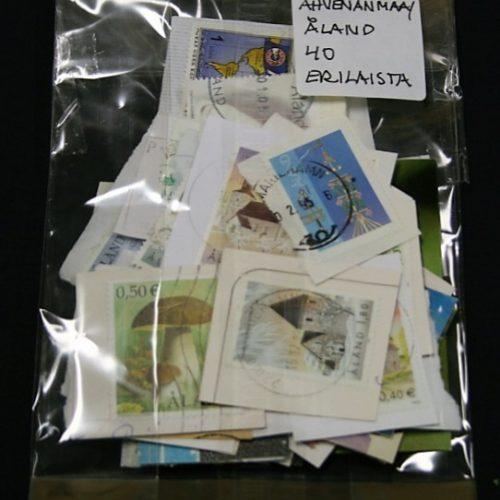 Ahvenanmaa/Åland, 40 erilaista merkkiä