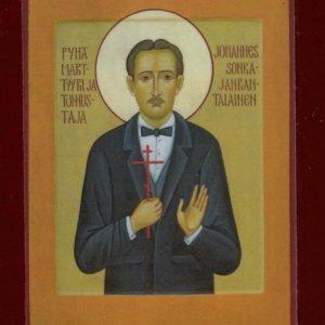 Pyhä marttyyri ja tunnustaja Johannes Sonkajanrantalainen